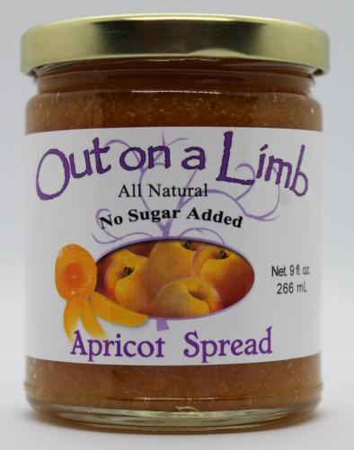 No Sugar Added Apricot Spread