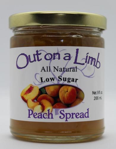 Low Sugar Peach Spread