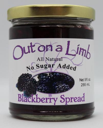 No Sugar Added Blackberry Spread