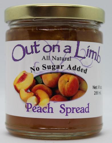 No Sugar Added Peach Spread