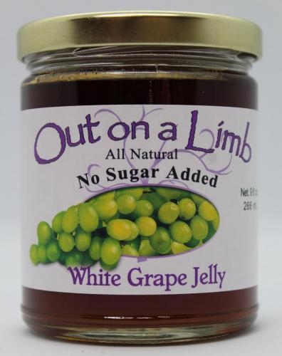 No Sugar Added White Grape Jelly