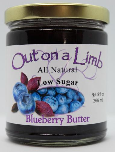 Low Sugar Blueberry Butter